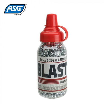 Picture of ASG Steel Blaster 0.35g 4.5mm Steel BBs x1500