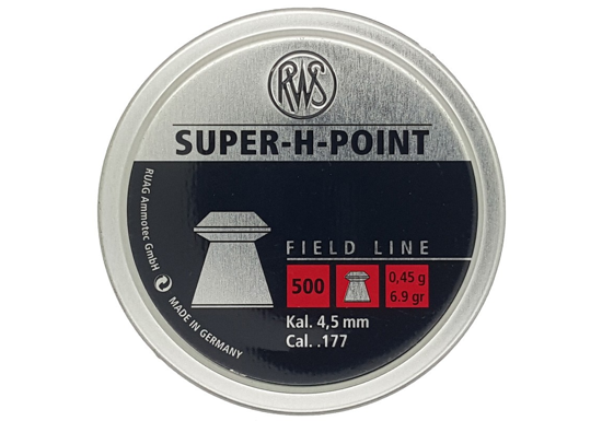 Picture of RWS Super H Point Field Line .177 x500 0.45g 6.9gr