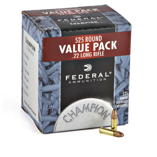 Picture of Federal Champion Copper Subs .22lr 36gr x525