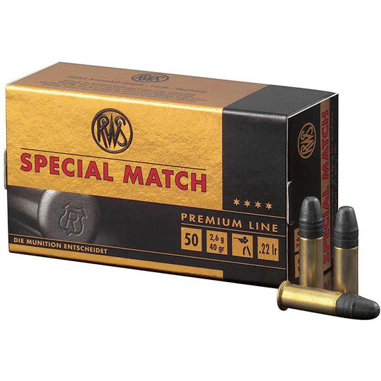 Picture of RWS Special Match 40gr .22lr