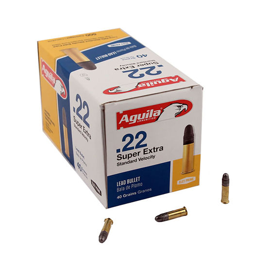Picture of Aguila Standard Solid Point .22lr 40gr Solid