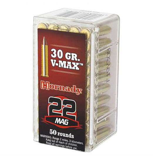 Picture of Hornady 30gr V-Max .22 WMR