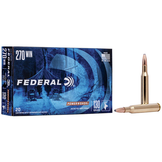 Picture of Federal Powder Shok .270 WIN 130gr SP