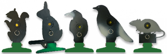 Picture of Milbro Free Standing Folding Silhoutte Knockdown Target (Pigeon)