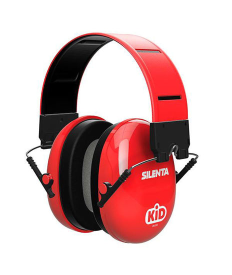 Picture of Silenta Kids Earmuffs RED