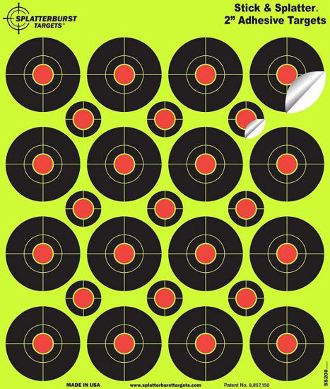 """Picture of Shoot-N-C 2"""" Adhesive Targets"""