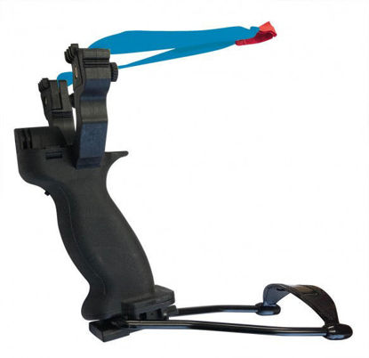 Picture of Milbro Deluxe Folding Sling Shot with Laser (Flat Band)